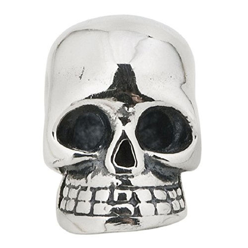 Authentic 925 Sterling Silver Halloween Gift Skull Symbols Bead Fits Pandora Charms
