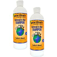 Earthbath All Natural Shampoo Oatmeal And Aloe, 16 Fl. Oz. (pack Of 2)