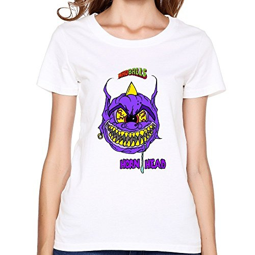 Womens Funny Slim Fit Madball T Shirt XLarge