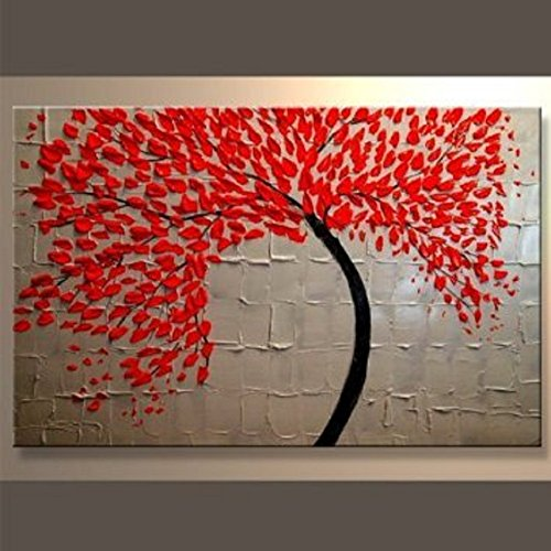 Modern Abstract Art Oil Painting STRETCHED READY TO HANG SAH14-Z