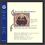 Music of the Middle Ages, Vol 6:  English Polyphony of the 14th & Early 15th Centuries