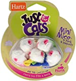 Hartz Just for Cats Mini Mice Cat Toy (5 pack)