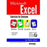 Microsoft Excel Exercises for Everyone (with CD-ROM Video Training)by Mark Gillan
