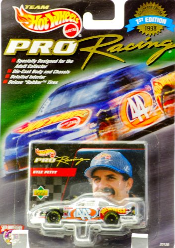 "Hot Wheels 1998 Pro Racing Kyle Petty ""Blues Brothers"" 1/64 Scale Diecast - 1"