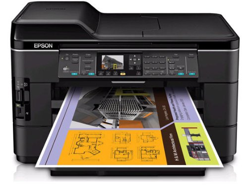 Epson WorkForce WF-7520 Wireless All-in-One Wide-Format