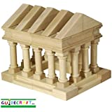 Guidecraft Tabletop Building Blocks - Greek Block Set G6104