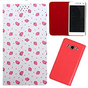 DooDa - For Micromax Canvas 4 A210 PU Leather Designer Fashionable Fancy Flip Case Cover Pouch With Smooth Inner Velvet