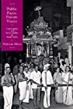 img - for Public Faces, Private Lives: Community and Individuality in South India book / textbook / text book