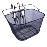 Basil Standard Front Wire Basket & Hook-On Bracket Black ã14.39