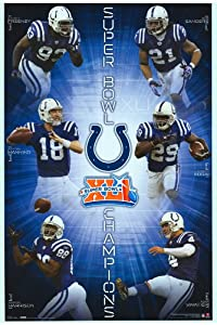 Indianapolis Colts - Sports Poster - 22 x 34