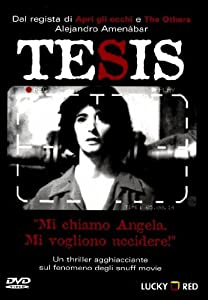 thesis amenabar movie Find trailers, reviews, synopsis, awards and cast information for thesis (1996) - alejandro amenábar on allmovie - the debut feature from spanish wunderkind.