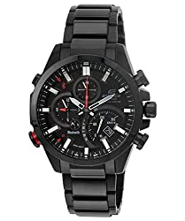 Casio Edifice Bluetooth Chronograph Black Dial Men's Watch - EQB-500DC-1ADR (EX210)