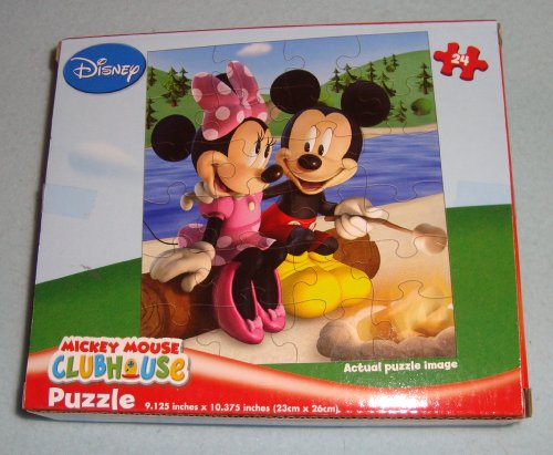 1 Mickey Mouse Clubhouse Puzzle Set 24 Pieces - 1