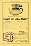 1904 Ad Tabard Inn Coffee Maker Food Philadelphia Tea - Original Print Ad