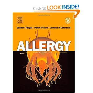 Allergy,   by Stephen T. Holgate MD DSc FRCP FRCPE MRC