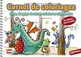echange, troc Gheno/Laëtitia - Carnet de coloriages et de créations : Fées, dragons et autres créatures attachantes