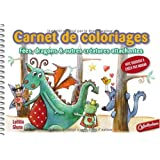 Carnet de coloriages et de crations : Fes, dragons et autres cratures attachantespar Latitia Gheno