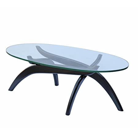 Designer Modern Spider Coffee Table Black Base