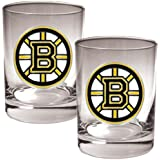 Great American Products NHL Team Rocks Glass Set-Primary Logo