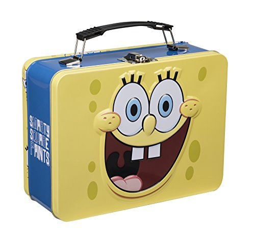 Vandor 21070 SpongeBob Square Pants Tin Tote, Large, Multicolored