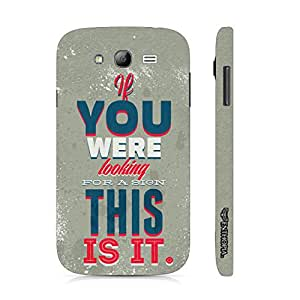 Samsung Galaxy Core Prime This Is It! designer mobile hard shell case by Enthopia