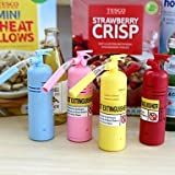 Mini Fire Extinguisher Design Vacuum Keyboard Cleaner