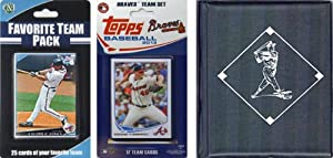 MLB Atlanta Braves Licensed 2013 Topps Team Set with Favorite Player Trading Cards... by C&I Collectables