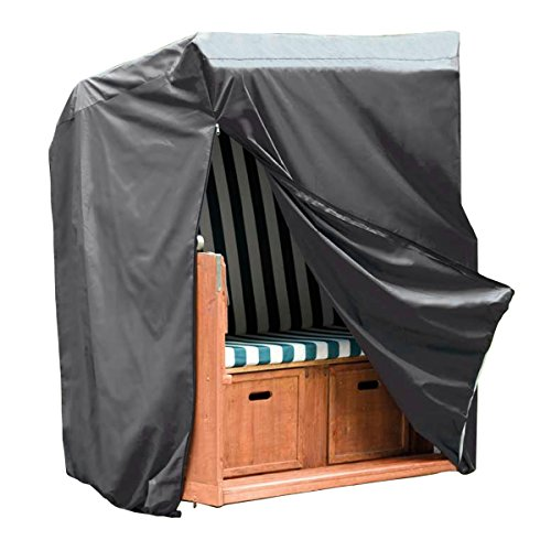 monkey mountain 30293 schutzh lle deluxe f r strandkorb 130 cm x 100 cm x 170 cm 134 cm. Black Bedroom Furniture Sets. Home Design Ideas