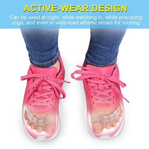Yoga Shoes For Bunions: Gel Toe Separator Toe Spacers Toe Stretchers For Men And