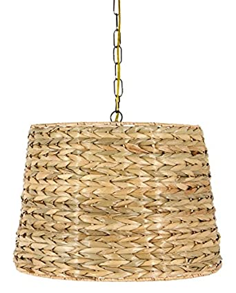 sea grass swag lamp lighting fixture hanging plug in. Black Bedroom Furniture Sets. Home Design Ideas