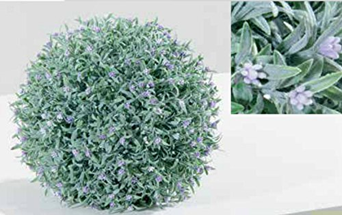 Greenball Provence, foglia lavanda con fiori