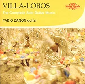 Heitor Villa-lobos The Complete Solo Guitar Music from Nimbus