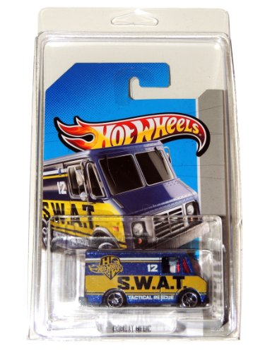 2013 Hot Wheels Swat Tactical Rescue Combat Medic 12/250 Worldwide F Case Card in Plastic Protector Pack