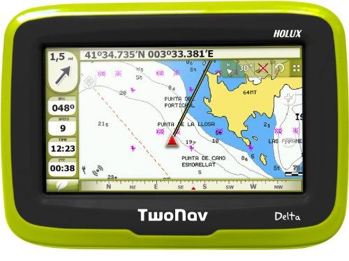 TwoNav Delta GPS Western Europe TOPO Pack  – Green/Black