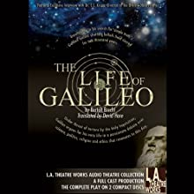 The Life of Galileo  by Bertolt Brecht Narrated by Stacy Keach, Emily Bergl, Jessica Chastain, Jill Gascoin