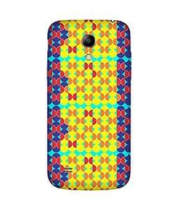 Stripes And Elephant Print-82 Samsung Galaxy S4 Mini Case
