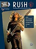 Ultimate Bass Play-Along Rush: Play Along with 6 Great Demonstration Tracks (Authentic Bass TAB) (Book & CD)