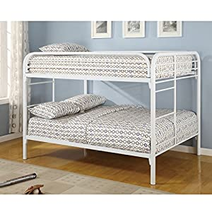 Fordham Collection Full-over-Full Bunk Bed with Built-in Ladder