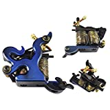 Afterlife Custom Irons 1-Wrap Coils Tattoo Machine Shader - Blue