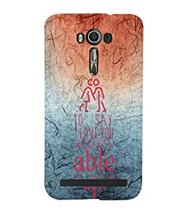 EPICCASE red and blue Mobile Back Case Cover For Asus Zenfone Go (Designer Case)