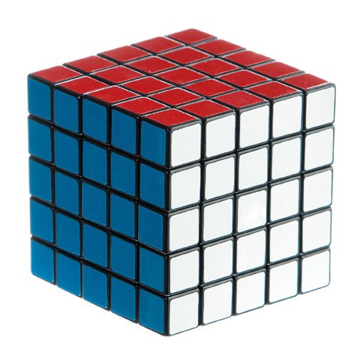 Frog-tech® 5x5x5 Magic Puzzle Speed Cube Collection - 1