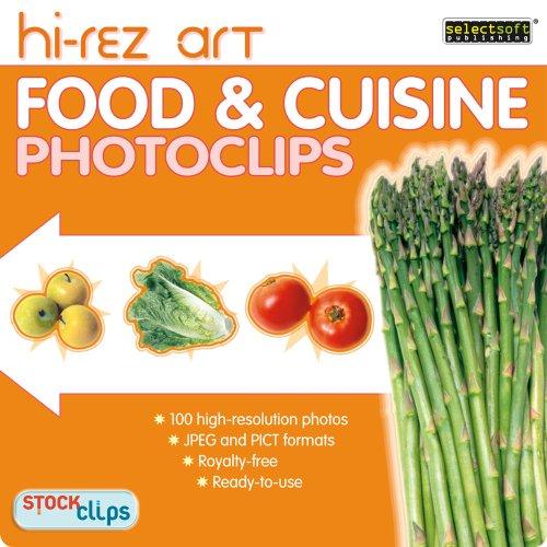 High-Rez Art: Food & Cuisine Photoclips [Download]