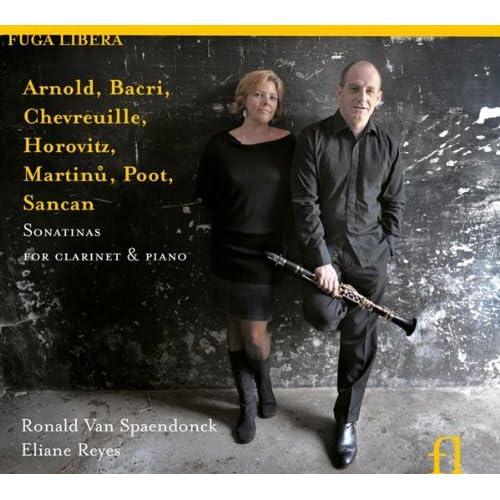 Sonatines pour clarinette et piano - Reyes - Van Spaendonck 51YbjXuQe8L._SS500_