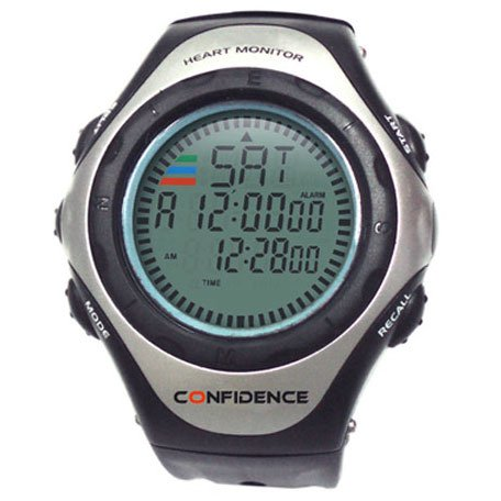 Confidence Heart Rate Monitor - Black/Silver