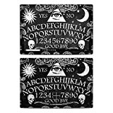 Ouija Protector Skin Sticker Compatible with Microsoft Surface Pro 6 - Ultra Thin Protective Vinyl Decal wrap Cover