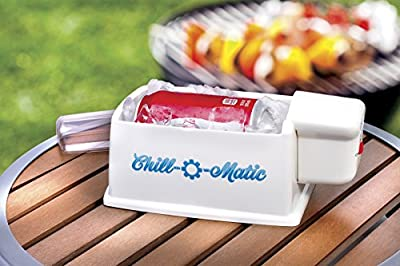 Chill-O-Matic Automatic 60 Second Beverage Chiller in White