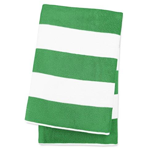 luxor-linens-esperanto-striped-turkish-cotton-beach-towel-green