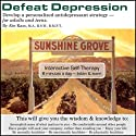 Defeat Depression: Develop a Personalized Antidepressant Strategy (       UNABRIDGED) by Abe Kass,  R.S.W. Narrated by Wayne June