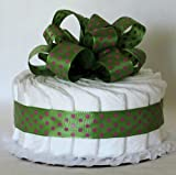 Just Diapers 1 Tier Baby Diaper Cake Baby Shower Gift
