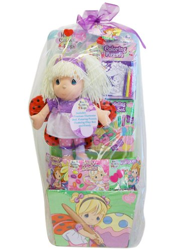 HUGE PRECIOUS MOMENTS EASTER GIFT BASKET 28